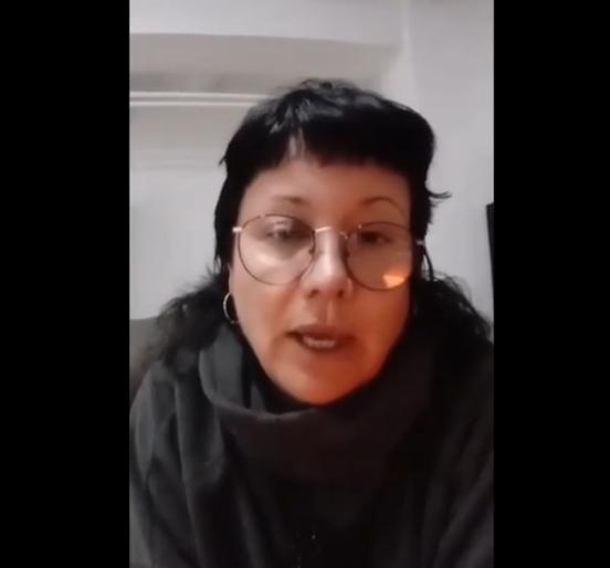 Joana Zoyo, membre del Club Cinema Castellar Vallès. || CEDIDA