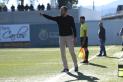 El tècnic castellarenc Marc Cabestany dirigint un partit del CF Igualada.