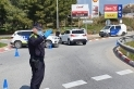 Control policial a la carretera de Sabadell