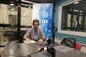 Giménez durant l'entrevista a Ràdio Castellar que ha estat emesa per diverses plataformes digitals