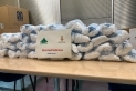 Algunes de les 1.900 mascaretes que ha donat l'empresa Huayi