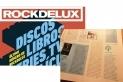 Detall de la portada del darrer Rockdelux amb el detall de la recomanació de l'Ones de Crom al seu interior