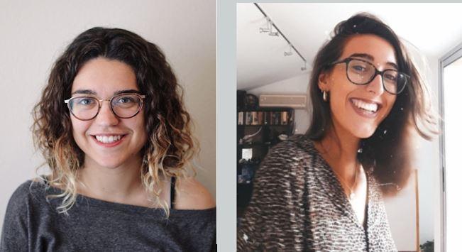 Meritxell i Dèlia, les dues guanyadores de la 5a Beca Oriol Papell d'ERC - CEDIDA