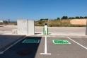 Així seran els nous punts de recàrrega del pàrquing de camions del Pla de la Bruguera || Cimalsa