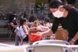 Terrasses obertes aquest dilluns, 25 de maig, a la plaça del Mercat