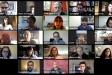 Un moment del ple telemàtic del mes de maig   YouTube