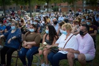 Més de 300 familiars han assistit a l'acte en record dels difunts d'aquests darrers tres mesos || Q. Pascual