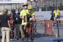 Oriol Alcaraz en el moment de la sortida del Campionat de Catalunya de contrarellotge al Circuit de Catalunya. || Cedida