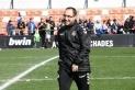 Miguel Ángel Rodríguez després d'un partit la temporada passada contra el filial del València ja com a delegat del Sabadell. || CrÍspulo Díaz