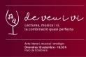 Cartell de l'activitat 'De veu i vi'. || AJUNTAMENT