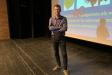 Francesc Mauri, dimarts passat, a la conferència de L'Aula a l'Auditori d'El Mirador - R.G.