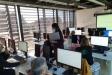 Una de les sessions dels cursos de capacitació digital a El Mirador - CEDIDA