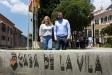Els regidors Esther Font i Pau Castellví quan van prendre possessió dels seus càrrecs al juny de 2019