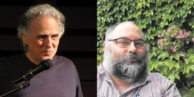 A l'esquerra, Miquel Desclot. A la dreta, Òscar Rocabert. || CEDIDES