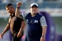 Diego Maradona en la seva darrera etapa com a entrenador