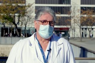 Manel Cervantes, infectòleg i cap de Malalties Infeccioses de l'Hospital Taulí