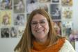 Mariona Sánchez, propietària de la botiga taller Brodats Mariona