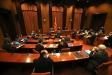 Reunió de la taula de grups i subgrups parlamentaris per abordar l'organització de les eleccions aquest divendres, 15 de gener