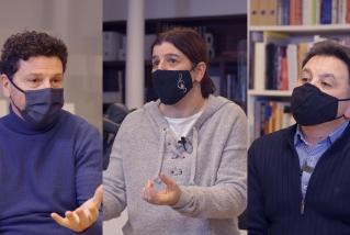 Francesc Gallardo, Eva Ballesteros i Miki Vilanova
