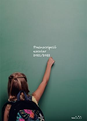Portada Especial Preinscripció Escolar 2021/2022