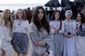 Actrius protagonistes de la pel·lícula 'Akelarre', que ha muntat la castellarenca Teresa Font. ||CEDIDA