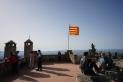 Des de la terrassa del Puig de la Creu es podia veure Castellar i part del Vallès