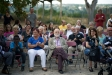 Arcadi Oliveres a la presentació del projecte d'habitatge cooperatiu de la masia de Can Carner, l'octubre del 2019. ||Q. PASCUAL