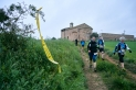 A la Ruta de les Ermites, Sant Pere d'Ullastre va estrenar el recorregut com a lloc emblemàtic de la marxa, que va tenir lloc diumenge 11 d'abril. || Q. PASCUAL