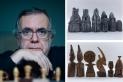 Salvador Juanpere, impulsor del museu, i diferents jocs que es podran veure a l'equipament