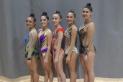 Les cinc atletes del Clau de Sol presents en les classificatòries per a l'Estatal. || Cedida