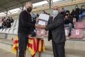 Mítics del club com Joan Daví van ser homenatjats pel 110 aniversari. || A. San Andrés