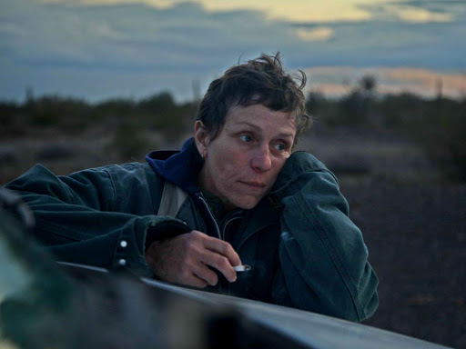Frances McDormand protagonitza 'Nomadland'.