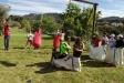 Alguns dels participants a la Festa del Riu divendres passat a Can Juliana