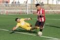 Carlos Saavedra va lesionar-se de gravetat en el partit de Caldes. || A. San Andrés