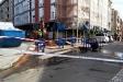 Tall de trànsit emtre els carrers Montcada i Avinguda Sant Esteve a causa de la fuita d'aigua ||M.A.