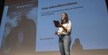 Eva Arderius, dimarts passat, a l'Auditori Miquel Pont || C.DÍAZ