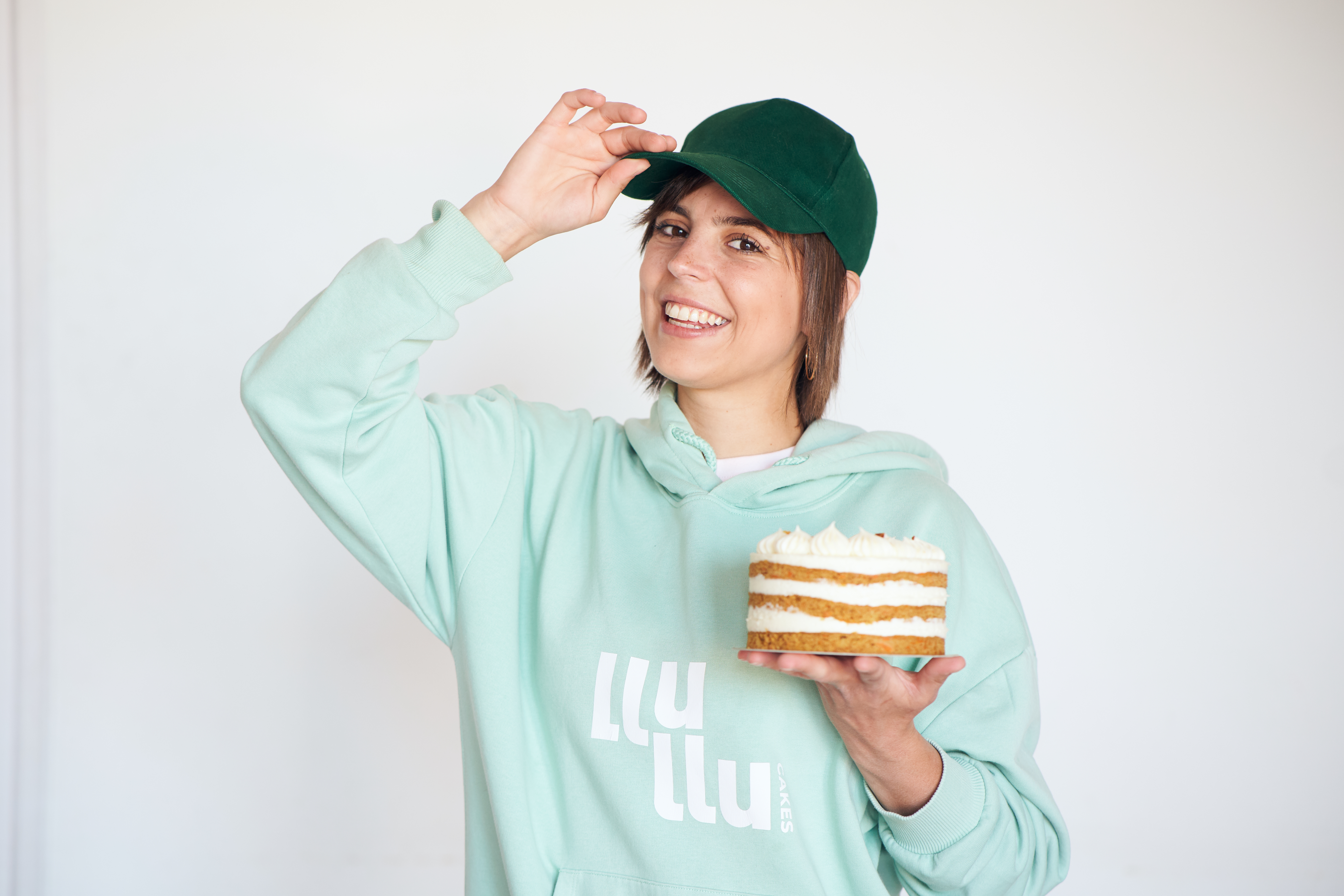 Júlia Lluelles, pastissera i emprenedora