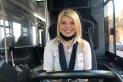 Carme García, conductora d'autobús de Moventis