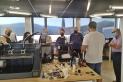 El Grup Pessebrista va assistir a un curs d'impressores 3D per aplicar aquesta tecnologia al pessebrisme. || M. A.