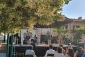 Actuació d'un dels combos d'Acció Musical Castellar als Jardins del Palau Tolrà. || CEDIDA