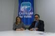Alicia Garcia, presidenta del PP Castellar, i Agustí Bernad, portaveu i cap de llista a les últimes eleccions municipals - CEDIDA