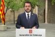 Compareixença del president Aragonès aquest dimecres per anunciar el confinament nocturn a 158 municipis    TV3