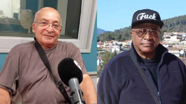 A l'esquerra, William Guerra i a la dreta Humberto Carrero, ambdós cubans establerts a Castellar / C. Domene