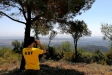 Un ADF fent tasques de vigilància pels entorns de Castellar