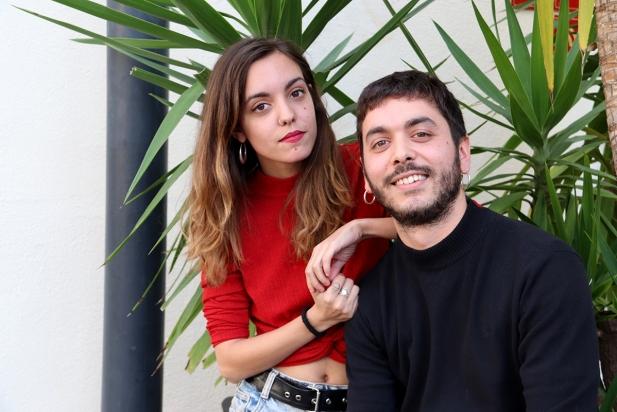La Júlia i el Pau Serrasolsas són, artísticament, Ginestà. ||CEDIDA