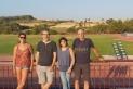D'esquerra a dreta, Laia Valera, Xavi Arderius, Sònia Molina i Toni Ventura, membres de la junta del CAC || Cedida