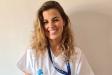 Judit Sández, infermera a la Vall d'Hebron