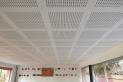 Una de les actuacions és la instal·lació de sostre nou a aulari de l'escola Bonavista || Aj. Castellar