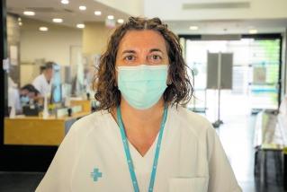 Isabel Martínez, directora de l'EAP Castellar al Centre d'Atenció Primària  / Carles Díaz