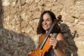 Núria Tarruell, violinista i estudiant de psicologia a la UAB - CEDIDA